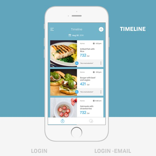 Nutrition tracking App