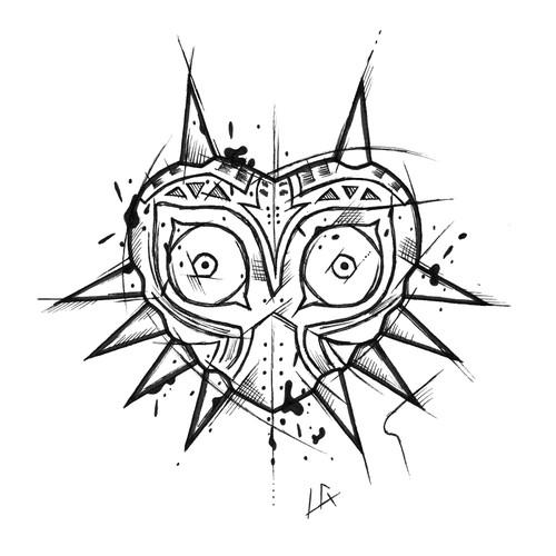Majora's Mask Tattoo