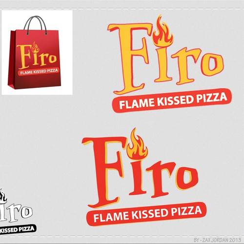 flame kissed pizza
