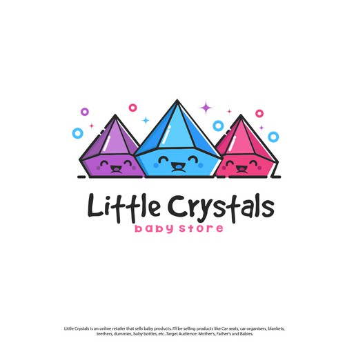 Little Crystals Logo Concept