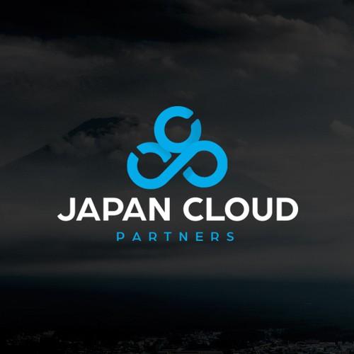 """Logo design concept for """"Japan Cloud Partners"""""""