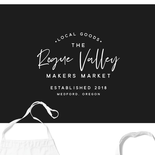 Branding Concept for The Rogue Valley Makers Market
