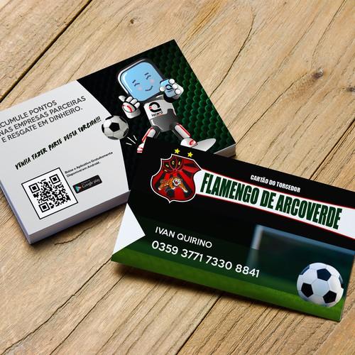 Cartão do Torcedor - Flamengo de Arcoverde
