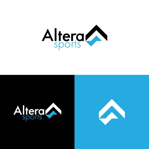 Simple and Dynamic sportswear logo