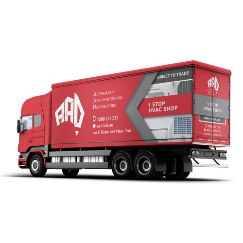 Design Truck Trailer Curtains/Sides