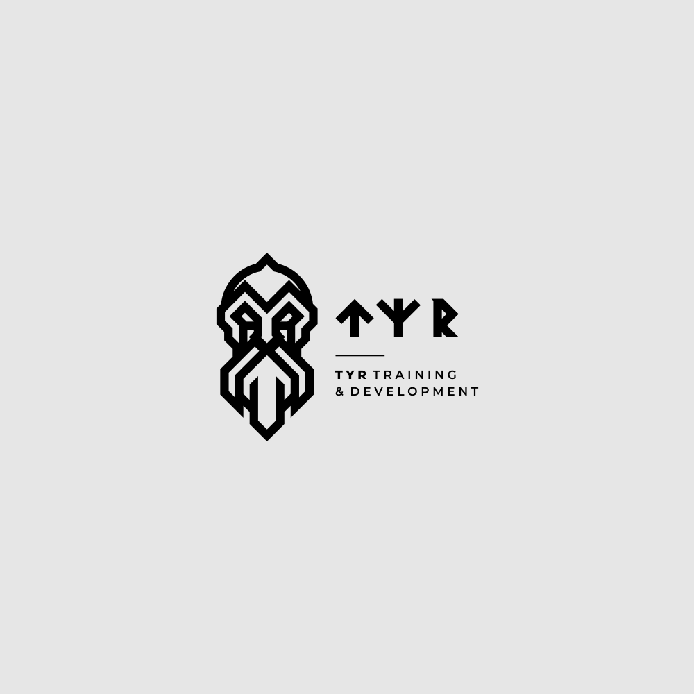 Masculine God of War Logo for Security Company