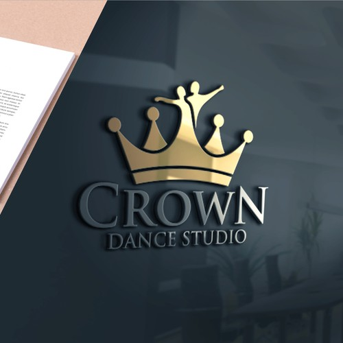 Bold logo for Crown Dance Studio