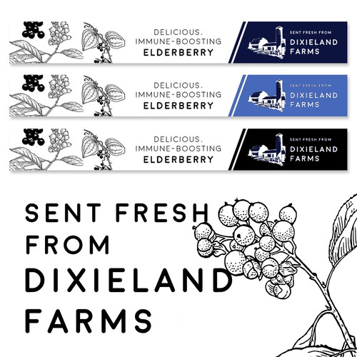 DixieLand Farms banner ad