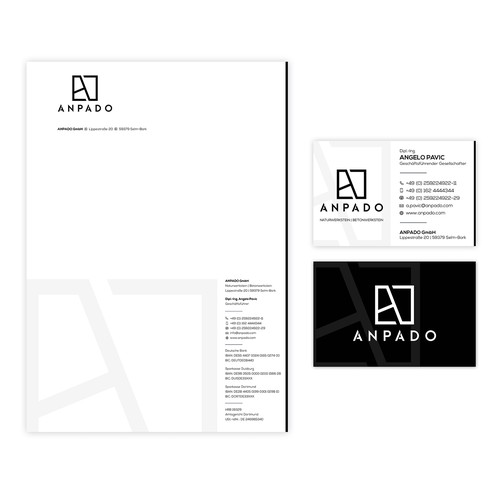 Businesscard and Letterhead