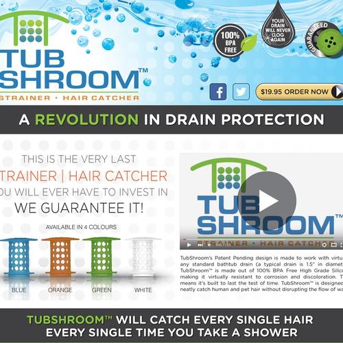TubShroom site page