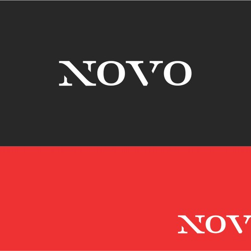 Simple Masculine Logo for Novo