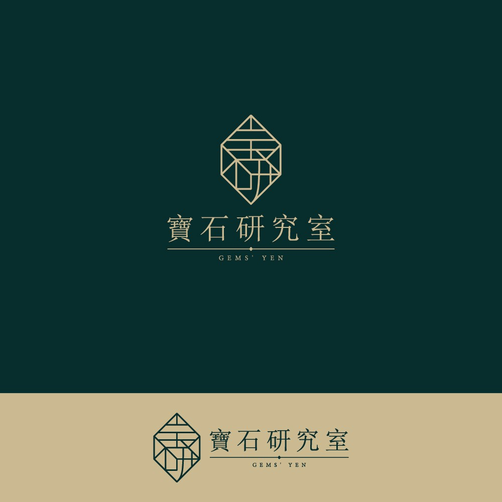 """""""New Gemstone Brand From Taiwan Needs A Logo Unlike Any Other, Come In And Check It Out"""""""