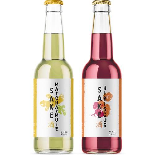 Sake drinks, new flavours