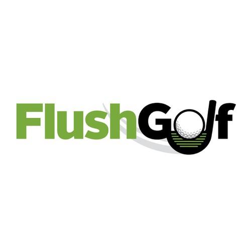 Create a logo to represent to a modern golf distribution company.