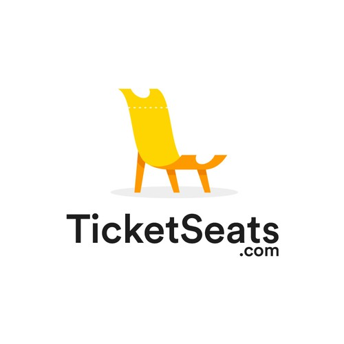 A simple yet smart logo concept for TicketSeats.com