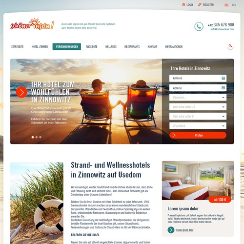 Web design for Travelers