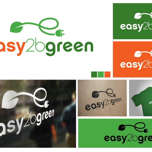 Help Easy 2 B Green with a new logo