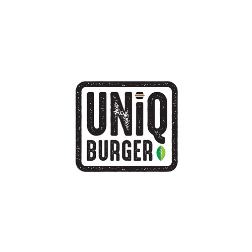 Proposed logo for Burger Restaurant