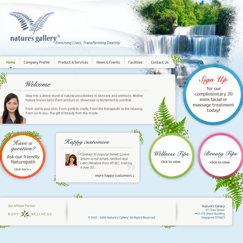Nature's Gallery Website