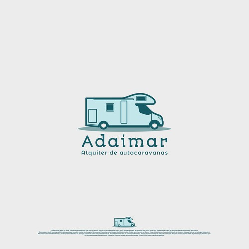 Logo for a motorhome rental