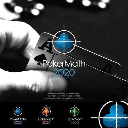 Bold Logo for PokerMath