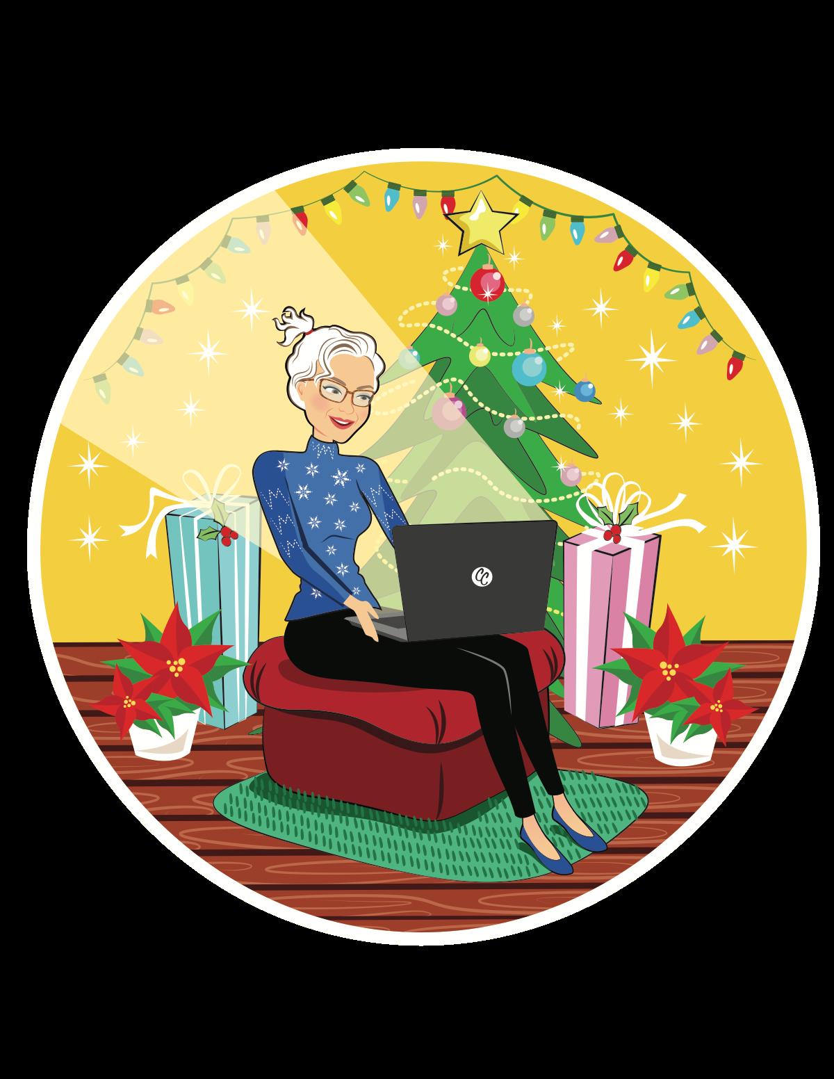 Chasing Christmas site logo/banner