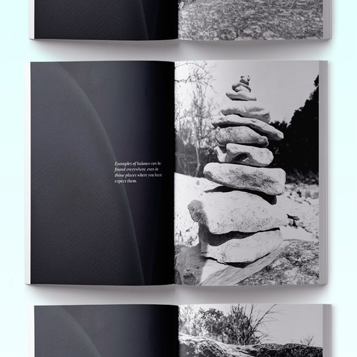 Minimal Coffee Table Style Photo Book