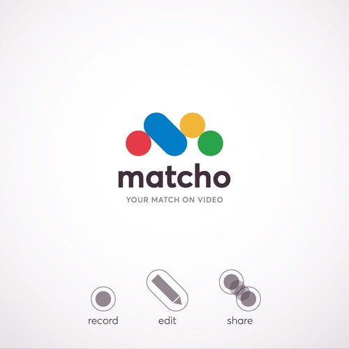 Logo concept for Matcho