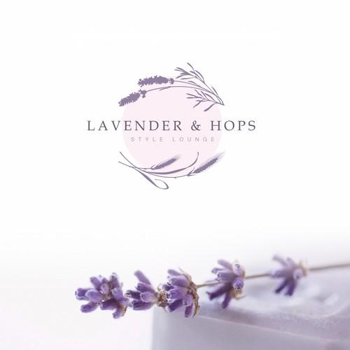 floral logo design concept