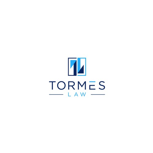 Abstract Concept Logo for TORMES LAW