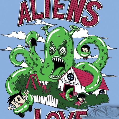 Aliens love kids