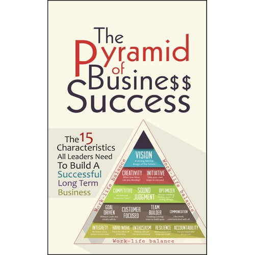 """Book Cover for """"The Pyramid of Business Success"""""""