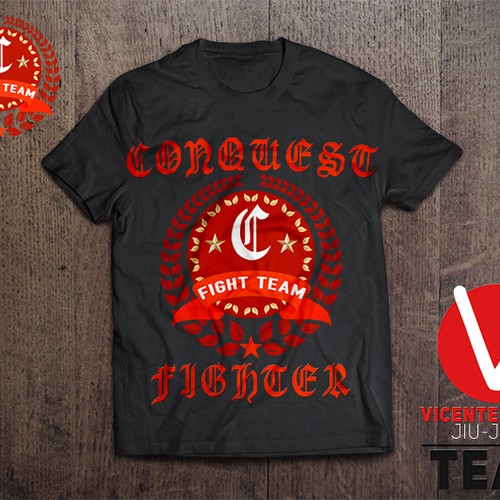 Conquest fight team shirt