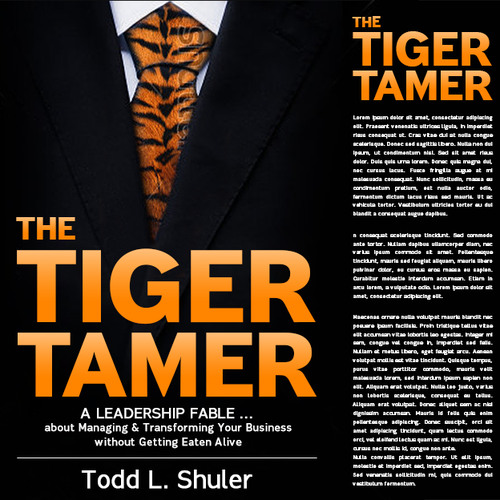 Book Cover Design - The Tiger Tammer