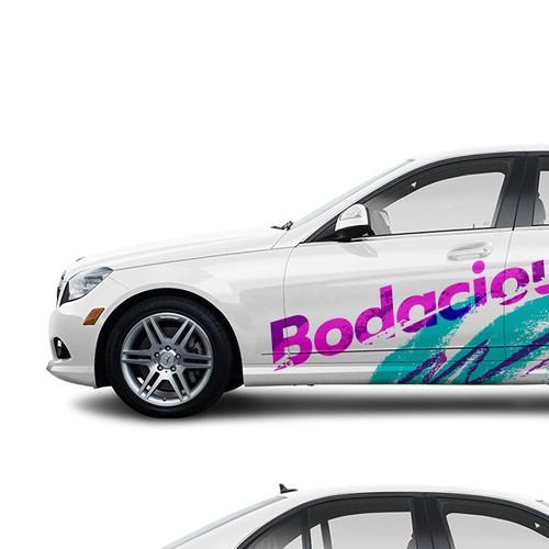 2008 mercedes C350 Bodacious Jazzy 90s Wrap