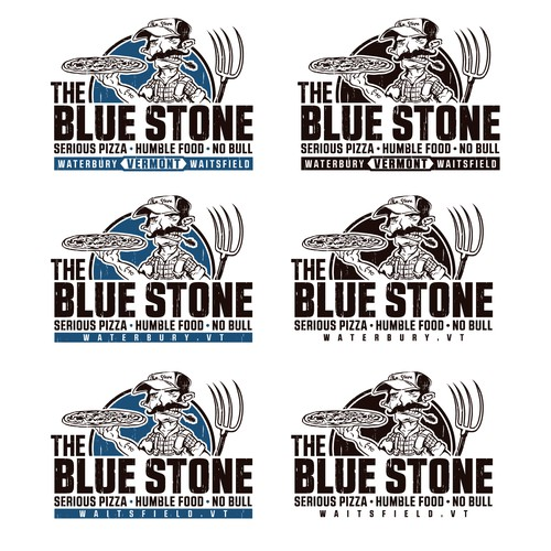 The Blue Stone logo