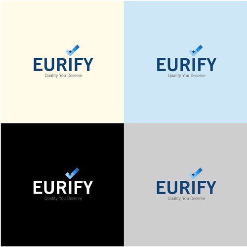 logo concept for eurify