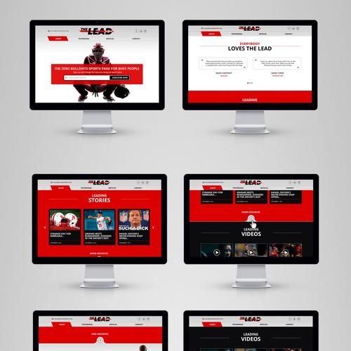 The Lead Sport Website