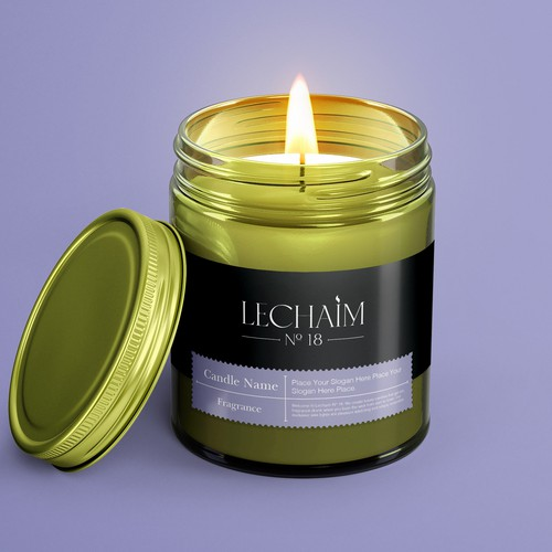 Product Label for a Luxury Candle Line
