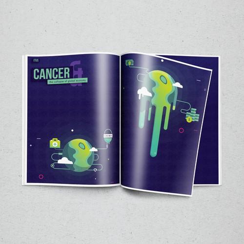 Magazine Article illustrations