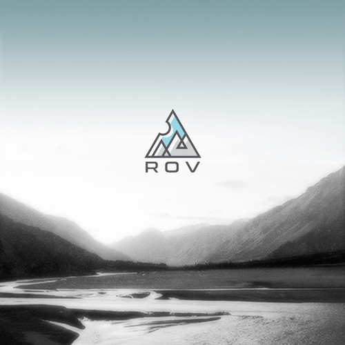 Logo concept for 'ROV'
