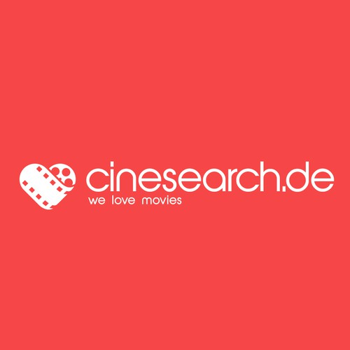Cinema search logo for a client's app