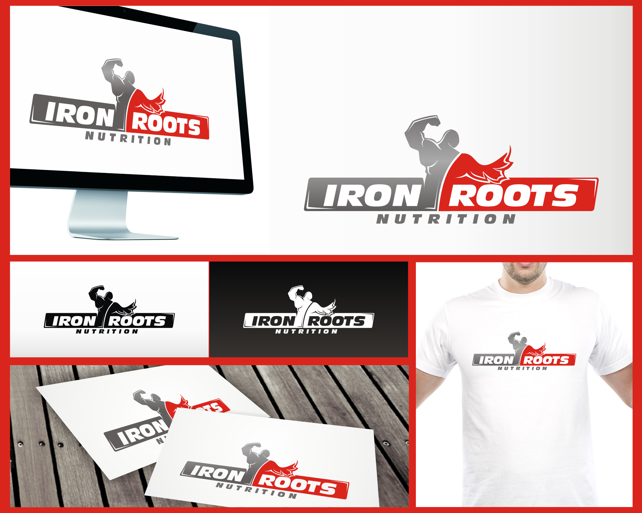 Iron Roots Nutrition needs a new logo