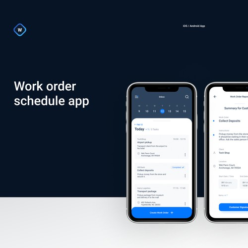 EasyWork - Task Schedule App