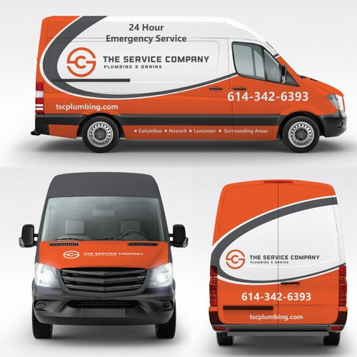 We want a showstopper - Vinyl Wrap Branding for Plumbing company