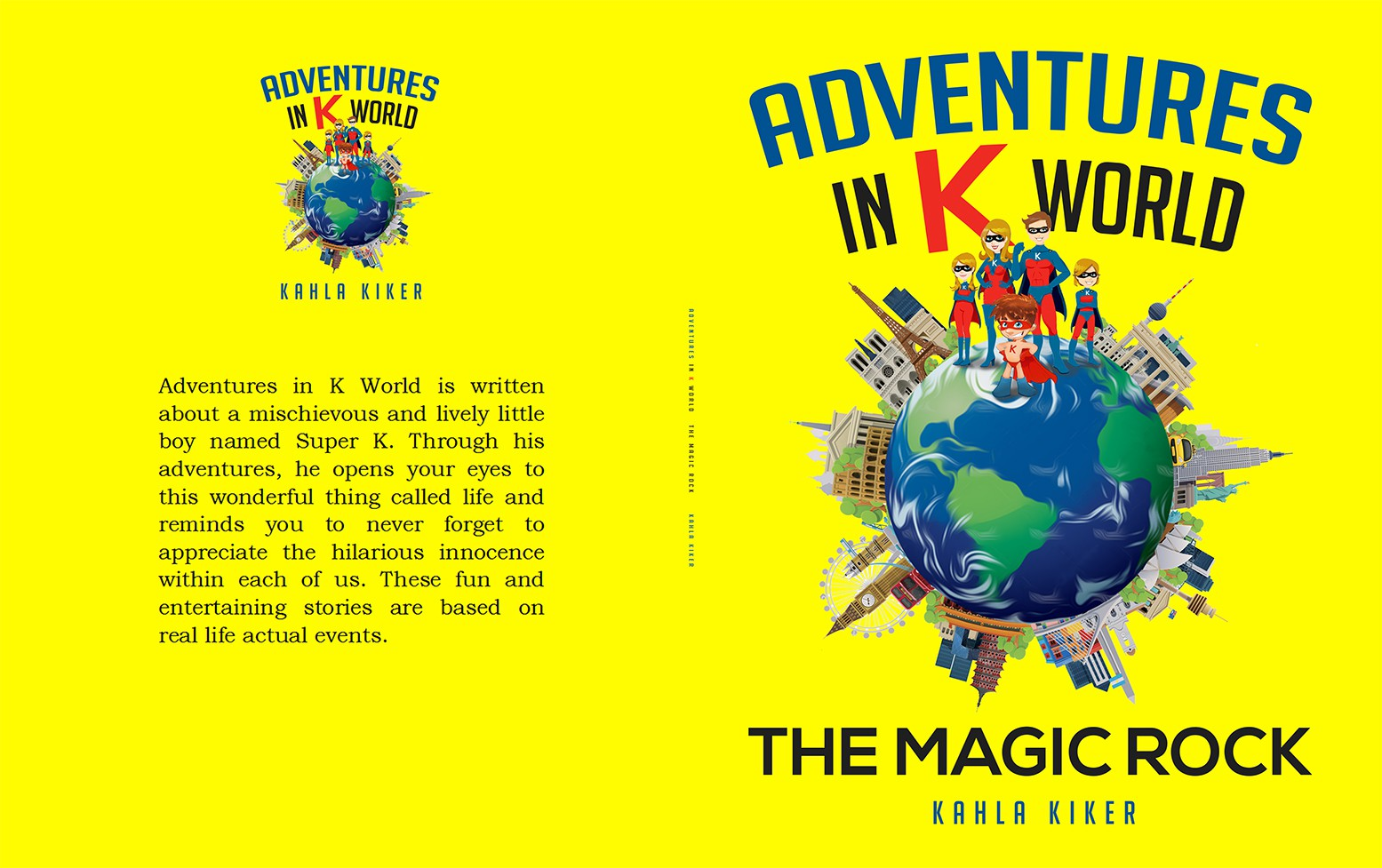 Join Adventures in K World on a wild ride to a new book cover!!!