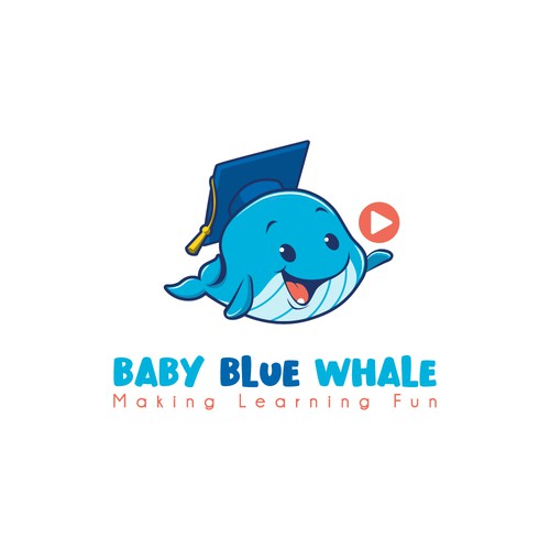 Baby Blue Whale logo