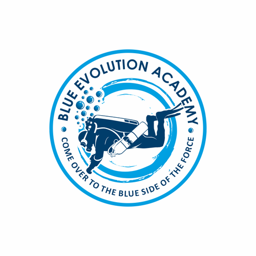 looking for an awesome logo for an  evolutionary dive company