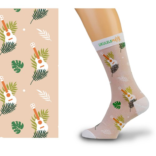 Sock Design For a Ukulele Company