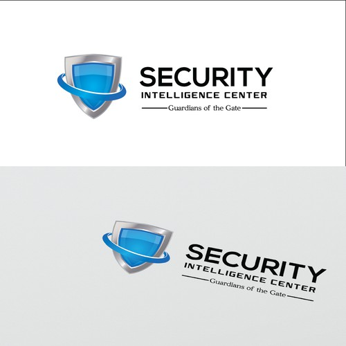 Create a logo for a network Security Intelligence Center